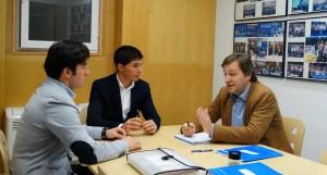 Con el PP Aragones