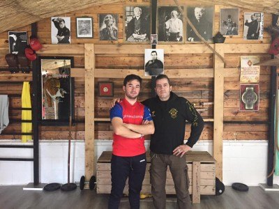 Imanol Sánchez y Javier Sancho.